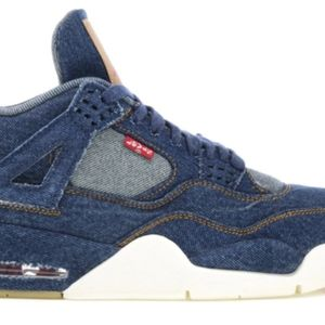 Air Jordan retro 4 Denim Levi's Model 6.5Y